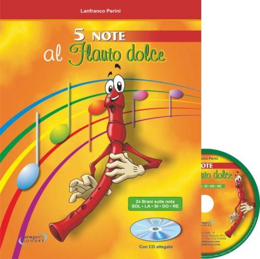 5 Note al Flauto dolce