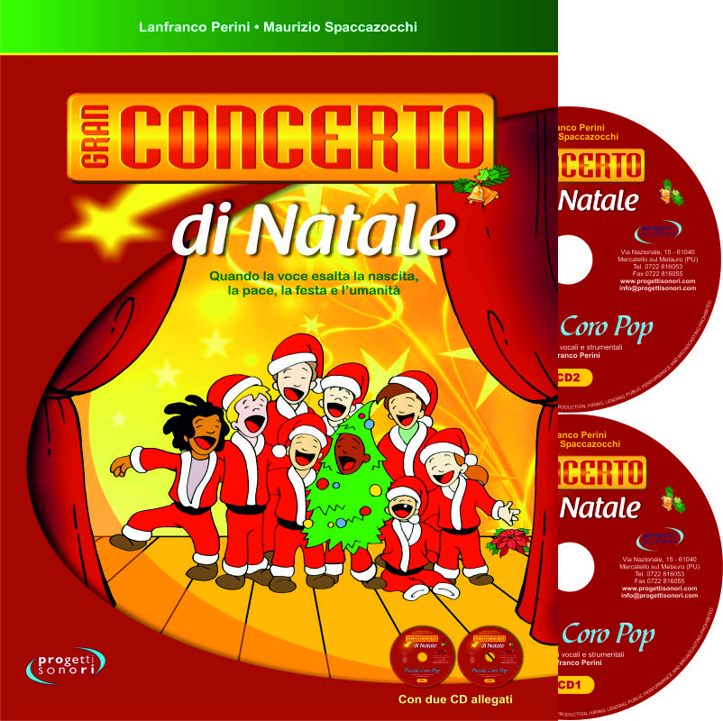 Babbo Natale In Spagnolo.Gran Concerto Di Natale