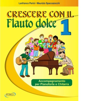 Partiture Crescere con il flauto dolce 1