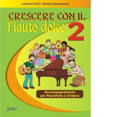 Partiture Crescere con il flauto dolce 2