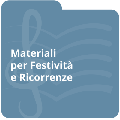 Materiali per festività e ricorrenze