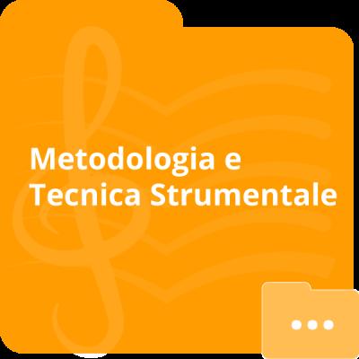 Metodologia e tecnica strumentale